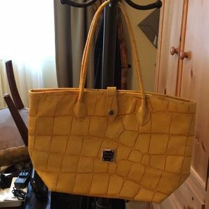 Dooney & Bourke Yellow Leather Purse